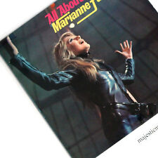 BEAUTIFUL MARIANNE FAITHFULL NAKED UNDER LEATHER COVER ALL ABOUT VINYL LP V.RARE