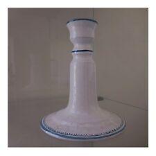 Bougeoir céramique faïence fait main FEVET Moustiers art déco XXe PN France N47