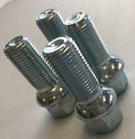 4 x wheel bolts nuts lugs M14 x 1.5 17mm Hex 35mm thread Radius Seat. VW Audi