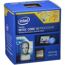 INTEL CORE I3-4170 Dual Core CPU punto 3.70 GHz HASWELL Socket LGA1150 retail Processore