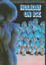 Programme Holiday On Ice Full Of Images 1985