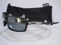 NEW OAKLEY POLARIZED CARBON SHIFT SUNGLASSES OO9302-03 MATTE BLACK / BLACK fiber