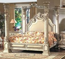 Canapy Beds chrome canopy beds frames   ebay