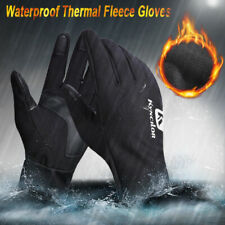 Outdoor Neoprene Waterproof Touch Screen Thermal Fleece Gloves Mittens Winter
