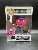 Funko Pop! Animation Rick and Morty Scary Terry # 300 Gamestop Exclusive Neon