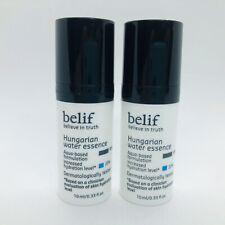 2 x Belif Believe In Truth Hungarian Water Essence .33 oz / 10 mL Travel Mini