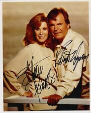 HART to HART, WAGNER and POWERS AUTOGRAPHED 8X10  PHOTO REPRINT (SHIPS FREE )*