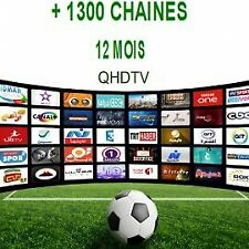 QHDTV code 1 an Abonnement iptv stable