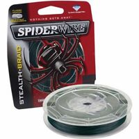 SpiderWire Stealth Braid Moss Green Braided Fishing Line 125 Yards