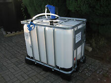 640 600 Litre Adblue IBC Tank Recycled New Adblue Pump Diesel Tank Delivery Kit