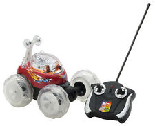 Tech Team Super Tumbler RC Remote Control Car Multicolor LEDs Extreme 360°