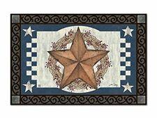 Magnet Works Blue Barn Star MatMate
