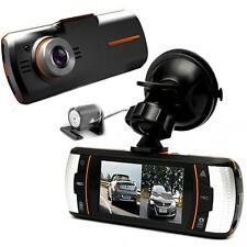 "1080P 2.7"" LCD Dual Lens Camera HD Car DVR 1920x1080 Vehicle Car Video Recorder"
