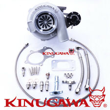 "Kinugawa Ball Bearing Turbo 4"" GTX3076 A/R .63 T3 Internal wastegate Swing Valve"