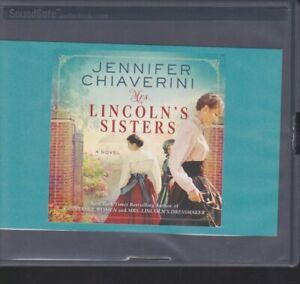 MRS. LINCOLN'S SISTERS by JENNIFER CHIAVERINI ~ UNABRIDGED CD AUDIOBOOK