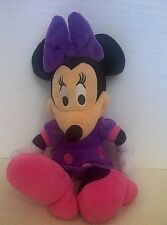 """New listing Disney Minnie Mouse Toy Plush Stuffed In Purple And Pink 9"""""""
