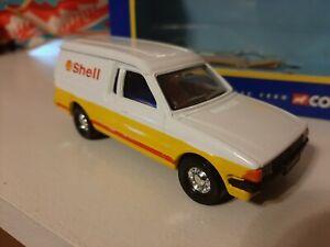 Corgi Toys Ford Escort Van. Shell. Very Rare. 1:36 Scale.