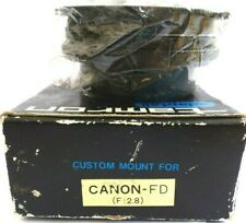 TAMRON ADAPTALL MOUNT FOR CANON FD IN UNSED CONDITION + COMPLETE WITH CAPS.