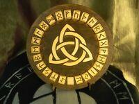 rune set, Elder Futhark, Rune Board, Viking Art, Wooden runes, Tarot, Divination