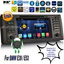 Autoradio BMW E39 E53 Android 8.1 X5 M5 5er Bluetooth DAB+ Navigatore TPMS 3339I
