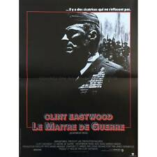 LE MAITRE DE GUERRE Affiche de film  40x60 - 1986 - Everett McGill, Clint Eastwo
