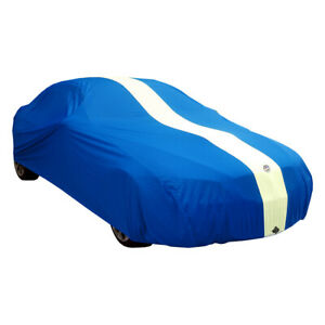 Show Car Cover Indoor for BMW Z3 & Z4 All Models Non Scratch Soft Fleece Blue