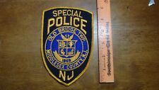VINTAGE SPECIAL POLICE OLD BRIDGE NEW JERSEY EARLY   OBSOLETE   PATCH  BX11#7