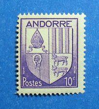1944 ANDORRA FRENCH 10c SCOTT# 78 MICHEL # 95 UNUSED NH                  CA00026