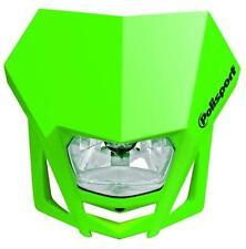 Polisport Lampenmaske LMX mit Halogen-Scheinwerfer, Grün