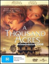 A THOUSAND ACRES (Michelle PFEIFFER Jessica LANGE Jason ROBARDS) DVD NEW SEALED