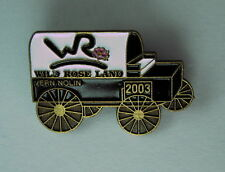 Wild Rose Land 2003 Chuckwagon Racing Pin Vern Nolin