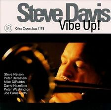 CD Vibe Up! by Steve Davis (Trombone) (CD, Mar-2000, Criss Cross)