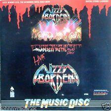 LIZZY BORDEN Laserdisc Murderess Metal Live Concert LD Rare