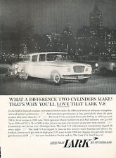1960 Studebaker Lark night V8 Classic Advertisement Ad