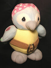 PRECIOUS MOMENTS PIRATE PARROT PLUSH STUFFED ANIMAL BY ENESCO NEW