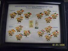 UEFA Championship 2000 pin badge set