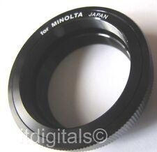 For Minolta MD X-370 X-570 X-700 T2 MOUNT LENS ADAPTER T 2 101 201 202 Srt Japan