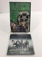 New Sealed DVD Pitit Adoptif 1 & 2 Pe George Production John Seme Haitian