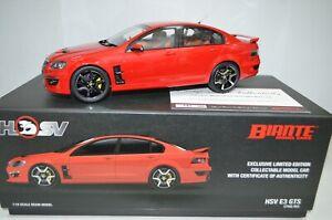 1:18 Scale HSV E3 GTS Sting Red Biante Resin Model Car #BR18404A w/ Certificate