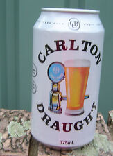 2014 Carlton Draught 150 Years Amber Jubilee Empty Can Bottom Opened Limited