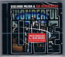 GIULIANO PALMA & THE BLUEBEATERS WONDERFUL LIVE CD F.C SIGILLATO!!!