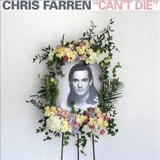 CHRIS FARREN (FAKE PROBLEMS) CAN'T DIE NEW VINYL RECORD