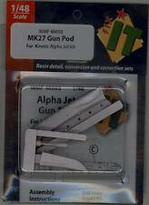 Wingman Models 1/48 MK.27 GUN POD for the DASSAULT ALPHA JET Resin Set