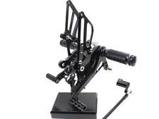 Black CNC Rearsets Foot pegs Rear set For Honda CBR929RR CBR954RR