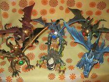 Lot x6 GRAND DRAGON MEGA BLOKS Megablok Megabloks Dragons non Lego