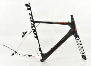 Giant M/L Propel Advanced SL 3 Carbon Frameset Mat Comp/Gl Wht/Red