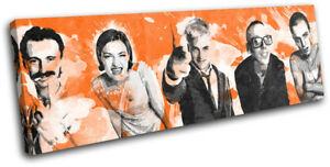 Trainspotting Cast Urban Movie Greats SINGLE CANVAS WALL ART Picture Print