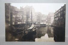 neue AK HAMBURG -- Fleth zwischen Fuhlentwiete und Neuerwall -- Motiv von 1860
