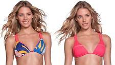 New listing Maaji Reversible Tropical Bikini Top Small 2 4 Coral + Print Optional Padding