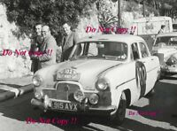Phillips & Baxter Ford Zephyr Monte Carlo Rally 1955 Photograph 2